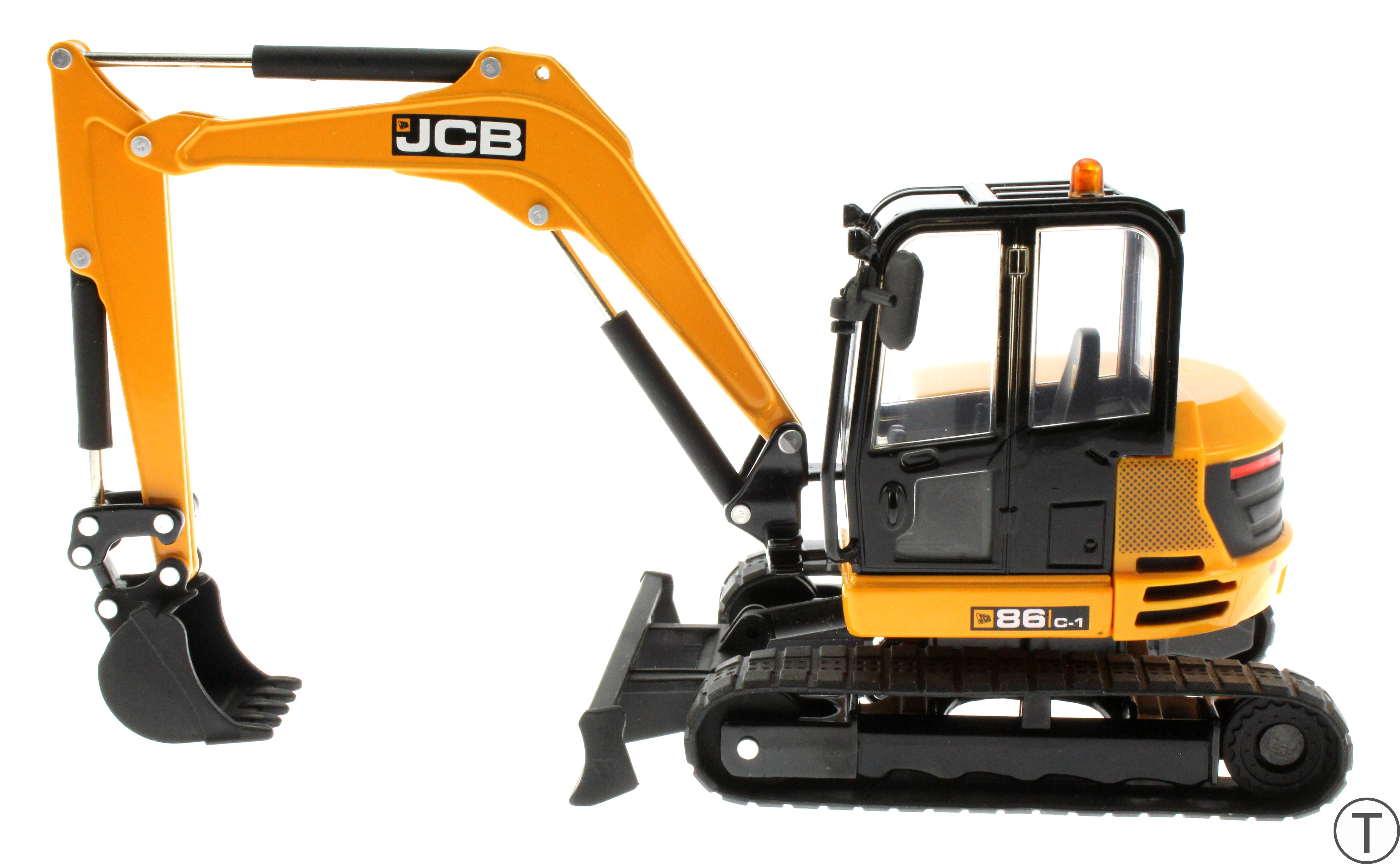 Britains 43013 - JCB Midi Bagger 86C-1 links