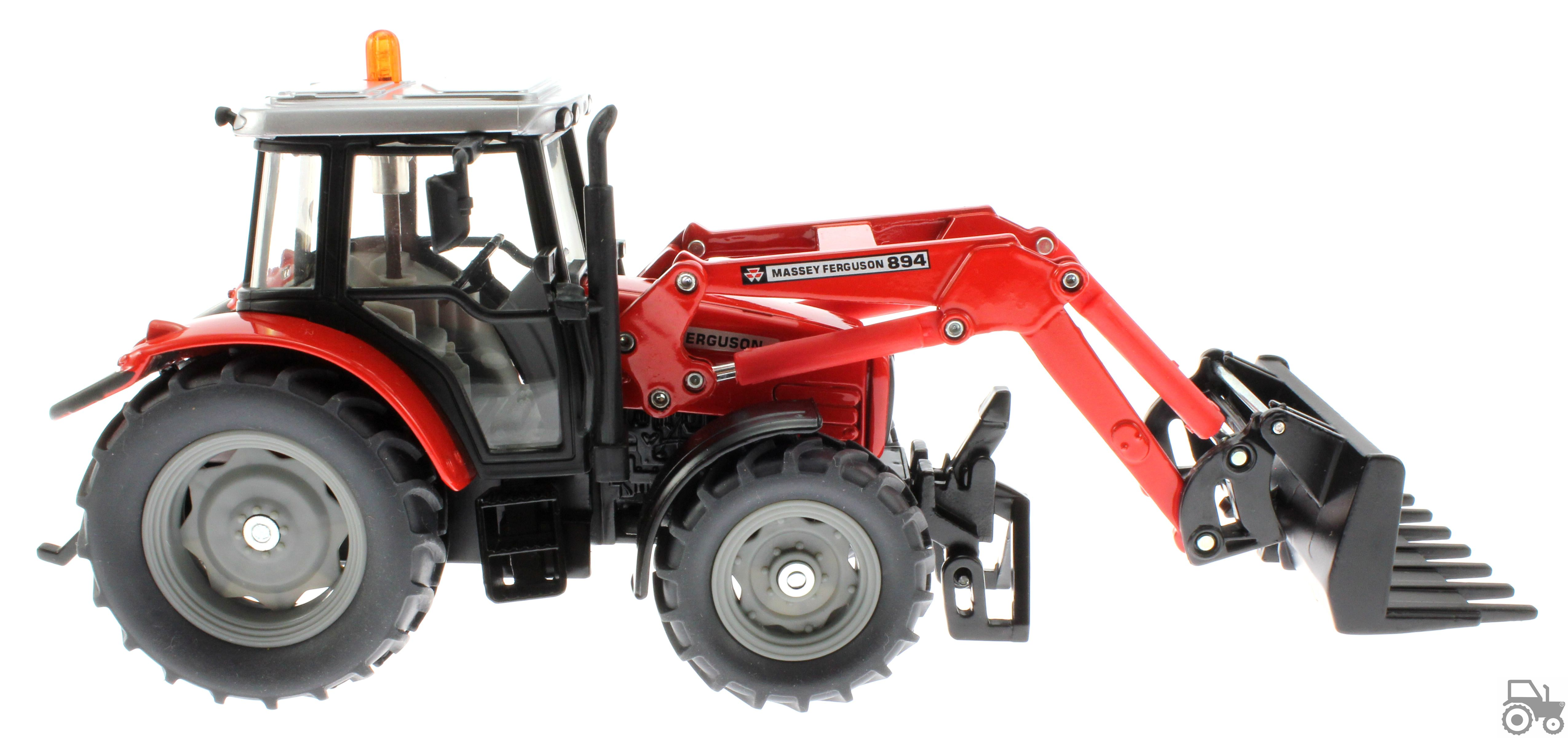 Siku 3653 - Traktor Massey Ferguson mit Frontgabel