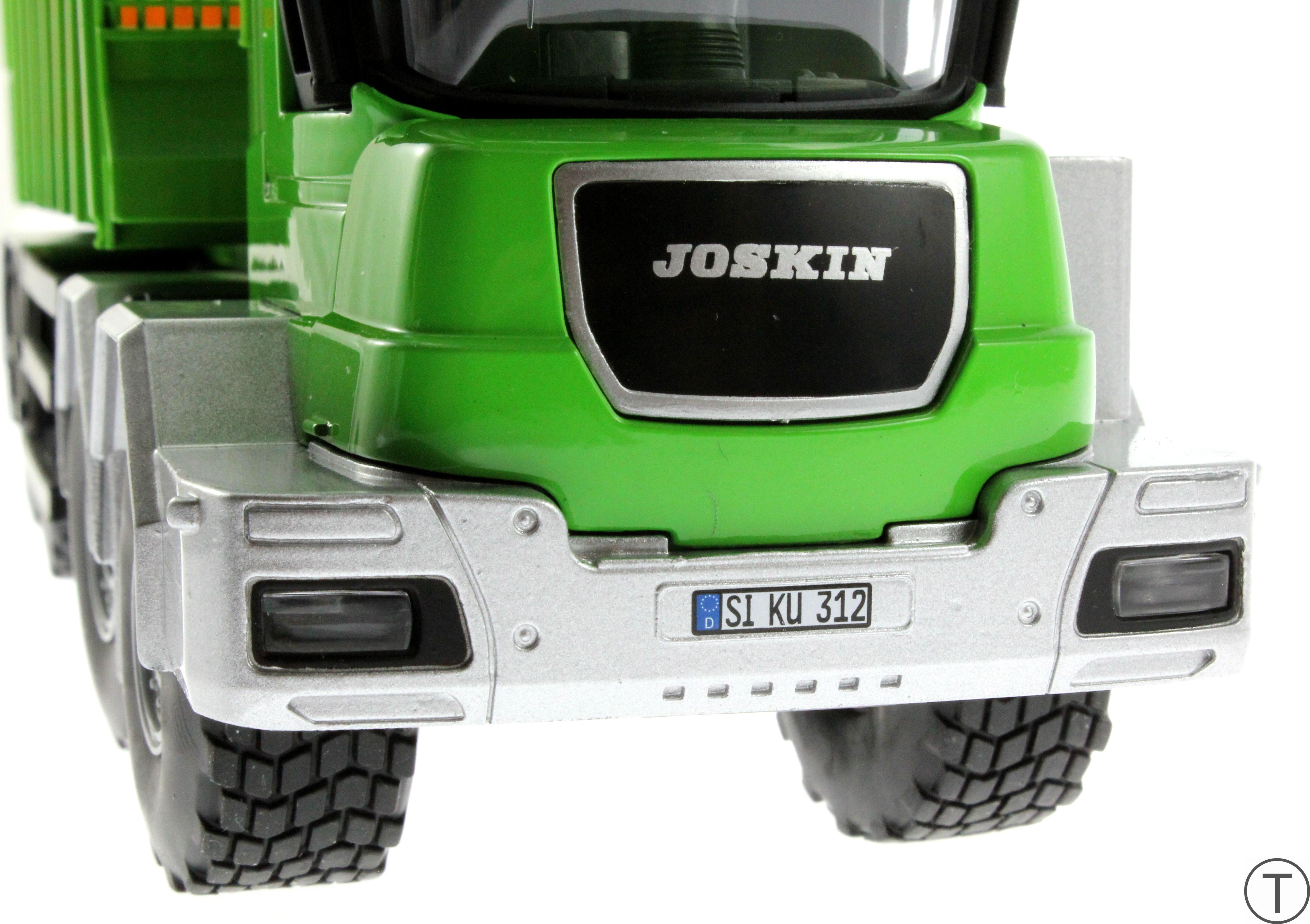 Siku 4064 - Joskin Silospace Cargo Track mit Ladewagen vorne unten
