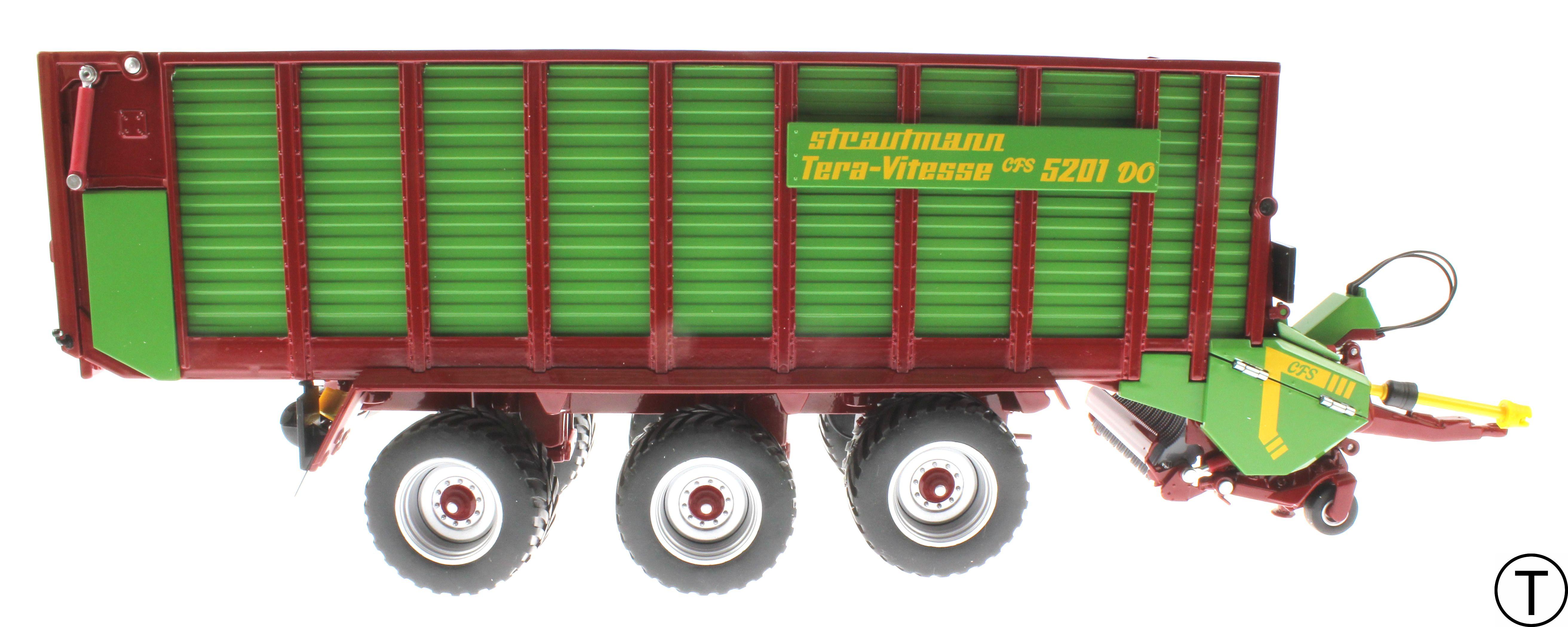 Wiking 7336 - Strautmann Tera Vitesse Ladewagen