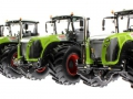 4 x Wiking Claas Xerion 5000 Trac unten vorne links