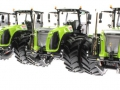 4 x Wiking Claas Xerion 5000 Trac vorne links
