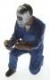 AT-Collections 32127 - Schweißender Fred auf den Knien vorne links