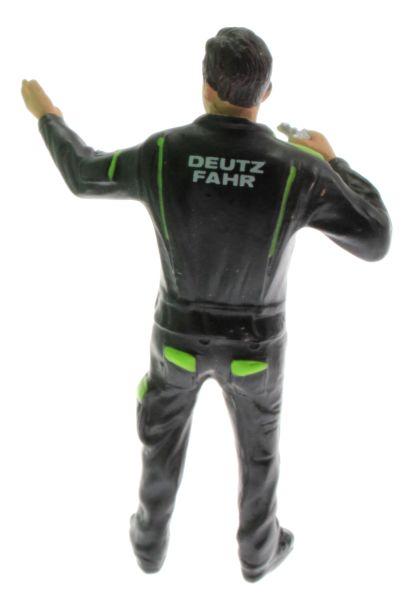 AT Collections M09D102 - Deutz-Fahr Figur mit Schlüssel hinten