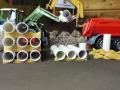Siku Control - Rohre auf Stapelhilfe vorne