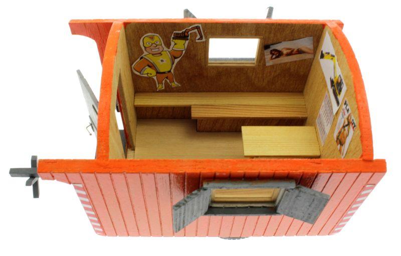 Bauwagen 1:32 Orange  oben links