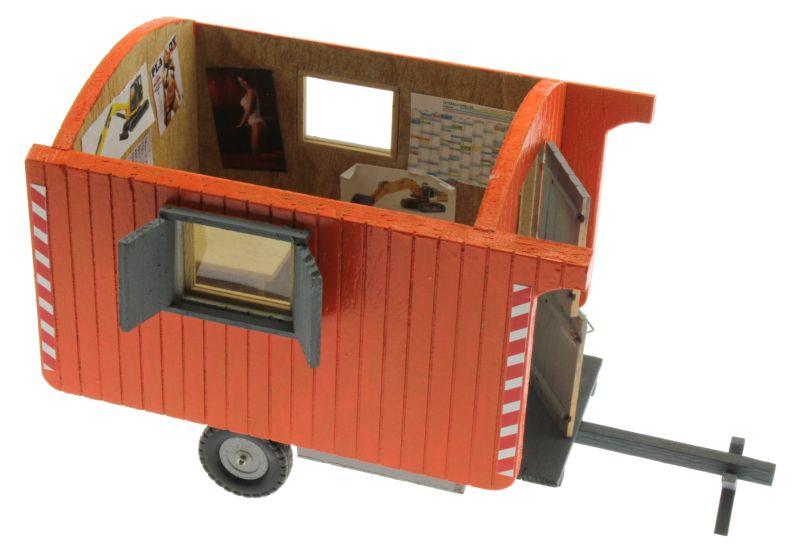 Bauwagen 1:32 Orange  oben rechts
