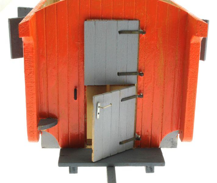 Bauwagen 1:32 Orange  Tür