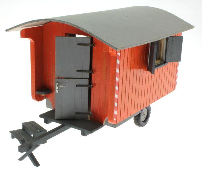 Bauwagen 1:32 Orange  vorne links