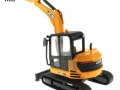 Britains 43013 - JCB Midi Bagger 86C-1 hinten links