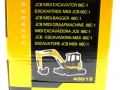 Britains 43013 - JCB Midi Bagger 86C-1 karton Seite