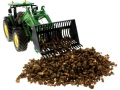 Brushwood TOYS BT2076 - Kartoffeln Siku Control 32 John Deere 7R mit Rüben-Schaufel