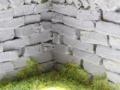 Brushwood TOYS BT2091 - Stein Mauer T-Form Nah