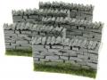 Brushwood TOYS BT3020 - Stein Mauer gebogen 4 Elemente