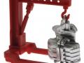 Brushwood Toys BT3043 - Farm Mechaniker und Zubehör Set - Kran mit Motor
