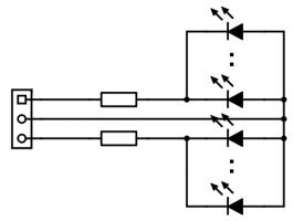 Treckersammlung Monster Chip Pro LEDS Anschluss