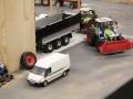 Farmworld Fehmarn - Claas mit Fliegl Anhänger