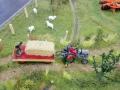 Farmworld Fehmarn - Alter Traktor mit Krone Anhänger