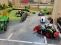 Farmworld Fehmarn - Claar Trecker mit Maisschiebeschild