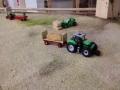 Farmworld Fehmarn - Deutz mit Hänger beladen mit Stroh