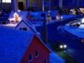 Farmworld Fehmarn - März 2015 bei Nacht Häuser