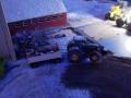 Farmworld Fehmarn - März 2015 bei Nacht John Deere