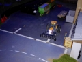 Farmworld Fehmarn - März 2015 bei Nacht Renault Traktor