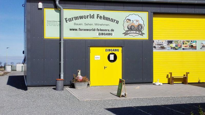 Farmworld Fehmarn - März 2015 Eingang