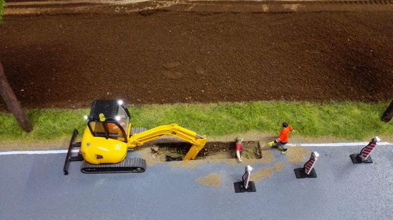 Farmworld Fehmarn - März 201 Straßenbaustelle