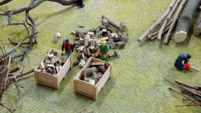 Farmworld Fehmarn - März 2015 Waldarbeiter