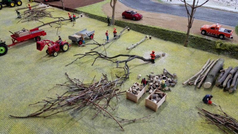 Farmworld Fehmarn - März 2015 Baumfällarbeiten