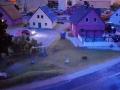 Farmworld Fehmarn - Häuser in der Abenddämmerung