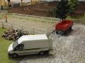 Farmworld Fehmarn Okt. 2015 - John Deere Service Wagen