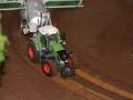 Farmworld Fehmarn Okt. 2015 - Fendt Traktor auf Schienen-System