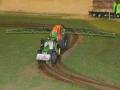Farmworld Fehmarn Okt. 2015 - John Deere mit Feldspritze