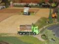 Farmworld Fehmarn Okt. 2015 - LKW mit Strohballen