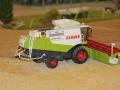 Farmworld Fehmarn Okt. 2015 - Mähdrescher Claas Lexion 600