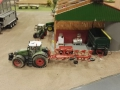 Farmworld Fehmarn Okt. 2015 - Fendt Traktor mit Pflug links