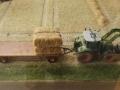 Farmworld Fehmarn Okt. 2015 - Trecker Claas mit Anhänger