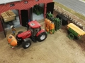 Farmworld Fehmarn Okt. 2015 - Case IQ mit Feldspritze