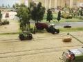 Farmworld Fehmarn Okt. 2015 - Getreide-Ernte