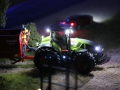 Farmworld Fehmarn Okt. 2015 - Claas Axion 950 beleuchtet