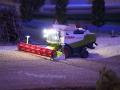 Farmworld Fehmarn Okt. 2015 - Claas Lexion 600 beleuchtet