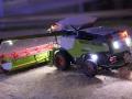 Farmworld Fehmarn Okt. 2015 - Claas Lexion 770 beleuchtet