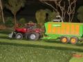 Farmworld Fehmarn Okt. 2015 - Massey Ferguson Trecker mit Joskin Anhänger