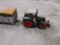 Farmworld Fehmarn Winter 2014 - Bauer auf Fendt