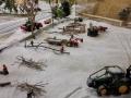 Farmworld Fehmarn Winter 2014 - Baumfällarbeiten