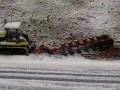 Farmworld Fehmarn Winter 2014 - Claas Raupe