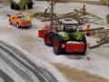 Farmworld Fehmarn Winter 2014 - Claas Traktor mit Räumschild