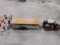 Farmworld Fehmarn Winter 2014 - Fendt Traktor mit Joskin Anhänger
